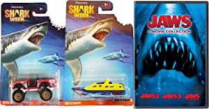Jaws 3-Movie Collection part Triple Feature DVD & Matchbox Shark Week Exclusive Discovery Channel 2 Disc set with car Special Edition set Movie pack Set