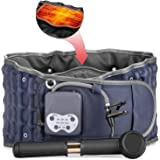 Cordless Heated Decompression Back Belt with Rechargeable Battery for Lower Back Pain Relief, Portable Lumbar Traction…