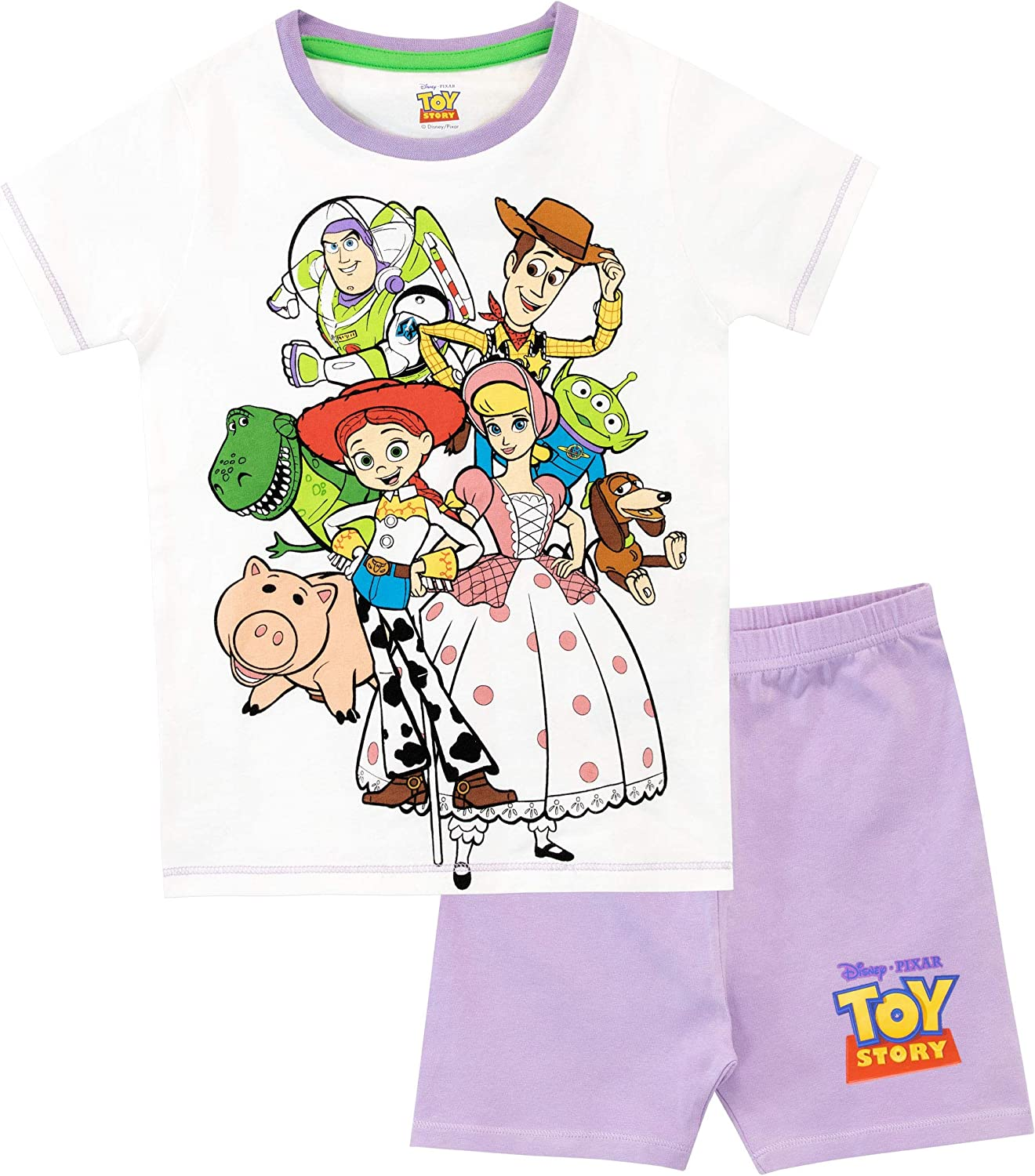 Toy Story 4 Toddler Boys Character Print 3pc Pajama Short Set Size 2T 3T 4T 5T