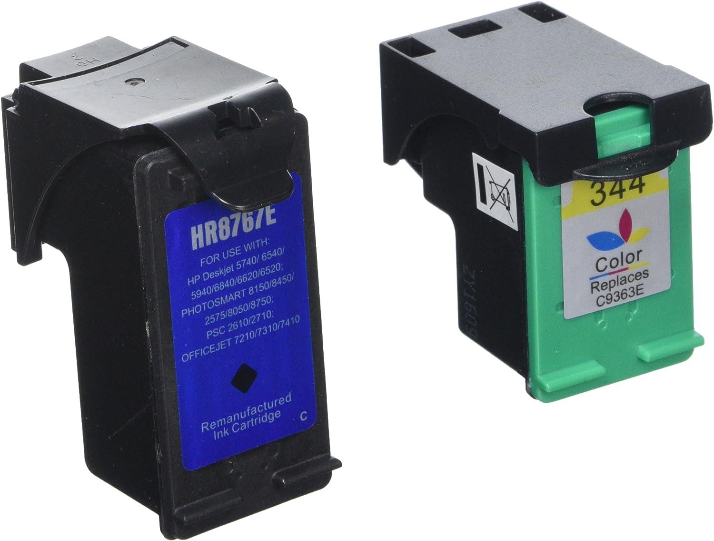 PerfectPrint - 2 cartuchos de tinta de impresora compatible HP 339 ...