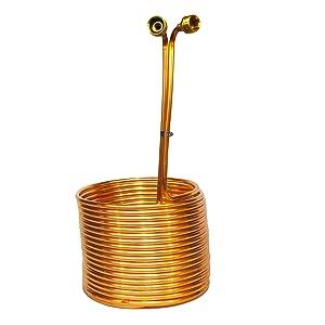 Copper Coil Immersion Chiller 50 Feet Length