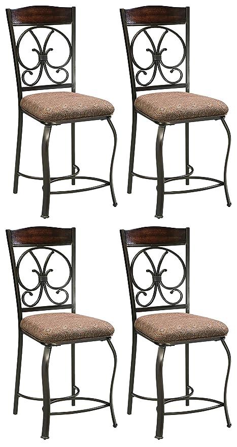 picture of Ashley Furniture Signature Design - Glambrey Upholstered Barstool - Set