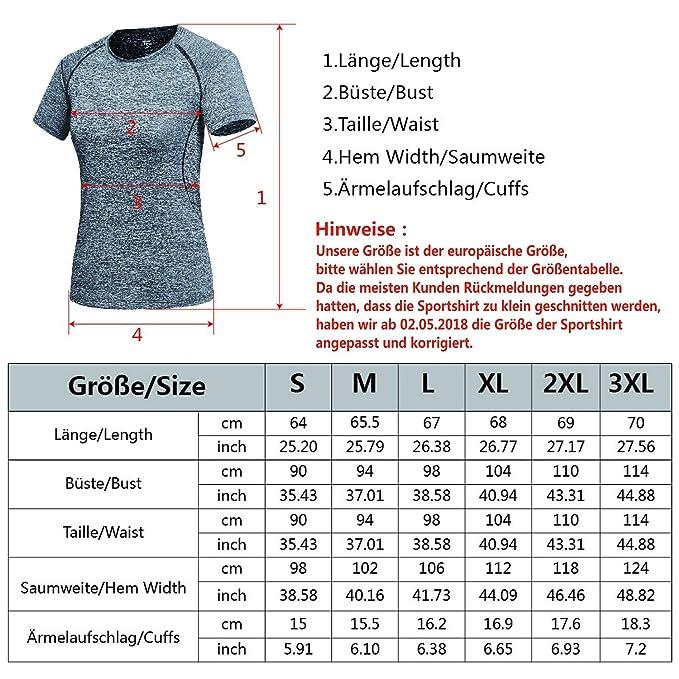 Haines Quick Dry Atmungsaktiv Yoga Sportshirt Damen Kurzarm Armel Sommer Outdoor Running Fitness Trainingsshirt
