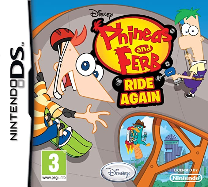 ferb ds and again Phineas ride