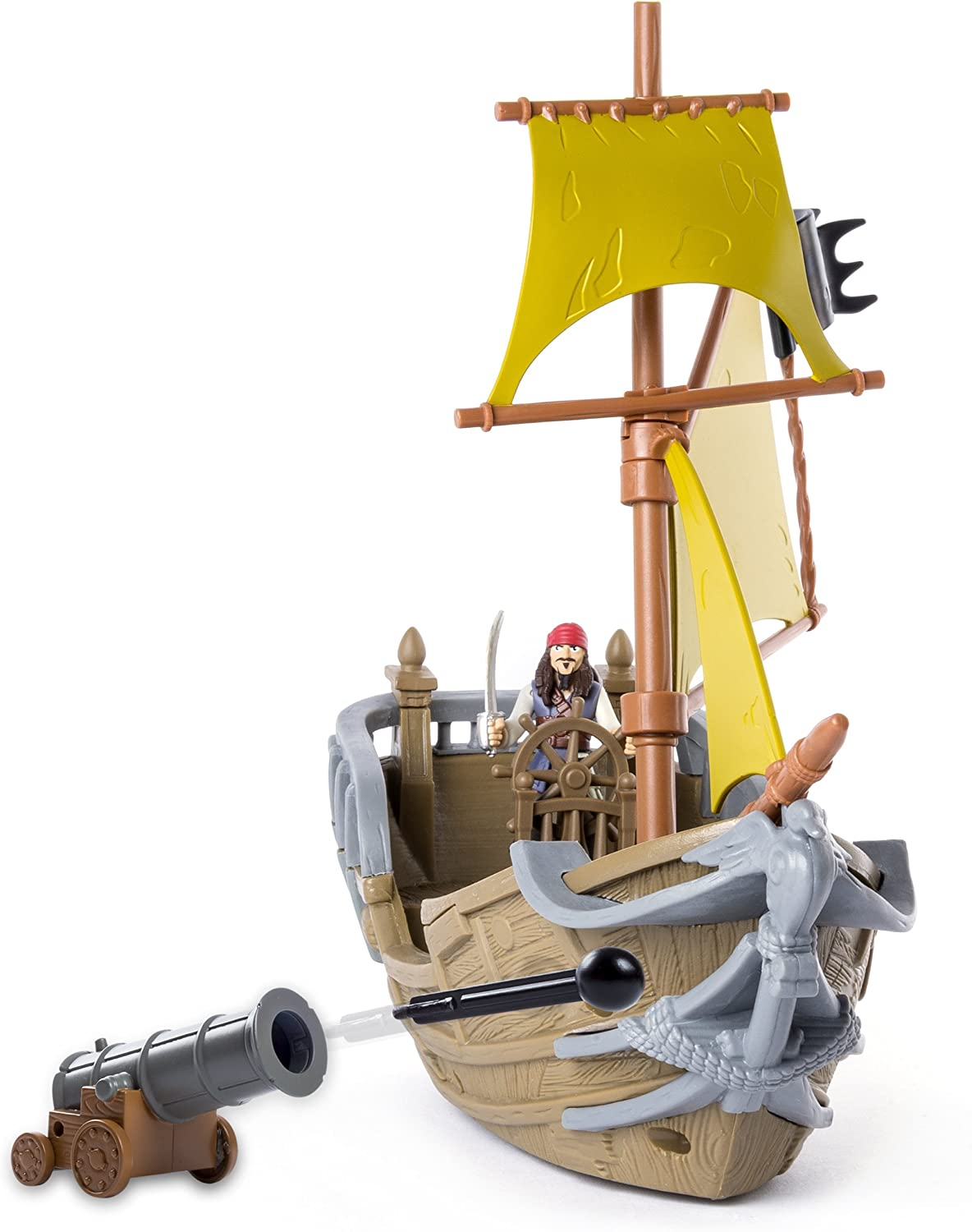 Pirates of the Caribbean Dead Men Tell No Tales Jacks Pirate Ship Playset