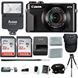 Canon PowerShot G7X Mark II Camera with 64GB Holiday Bundle