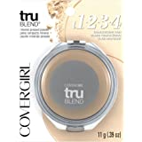 COVERGIRL truBlend Pressed Blendable Powder Translucent Fair, .39 oz