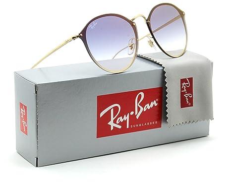 Amazon.com: Ray-Ban RB3574N Blaze Round Unisex Gradient ...