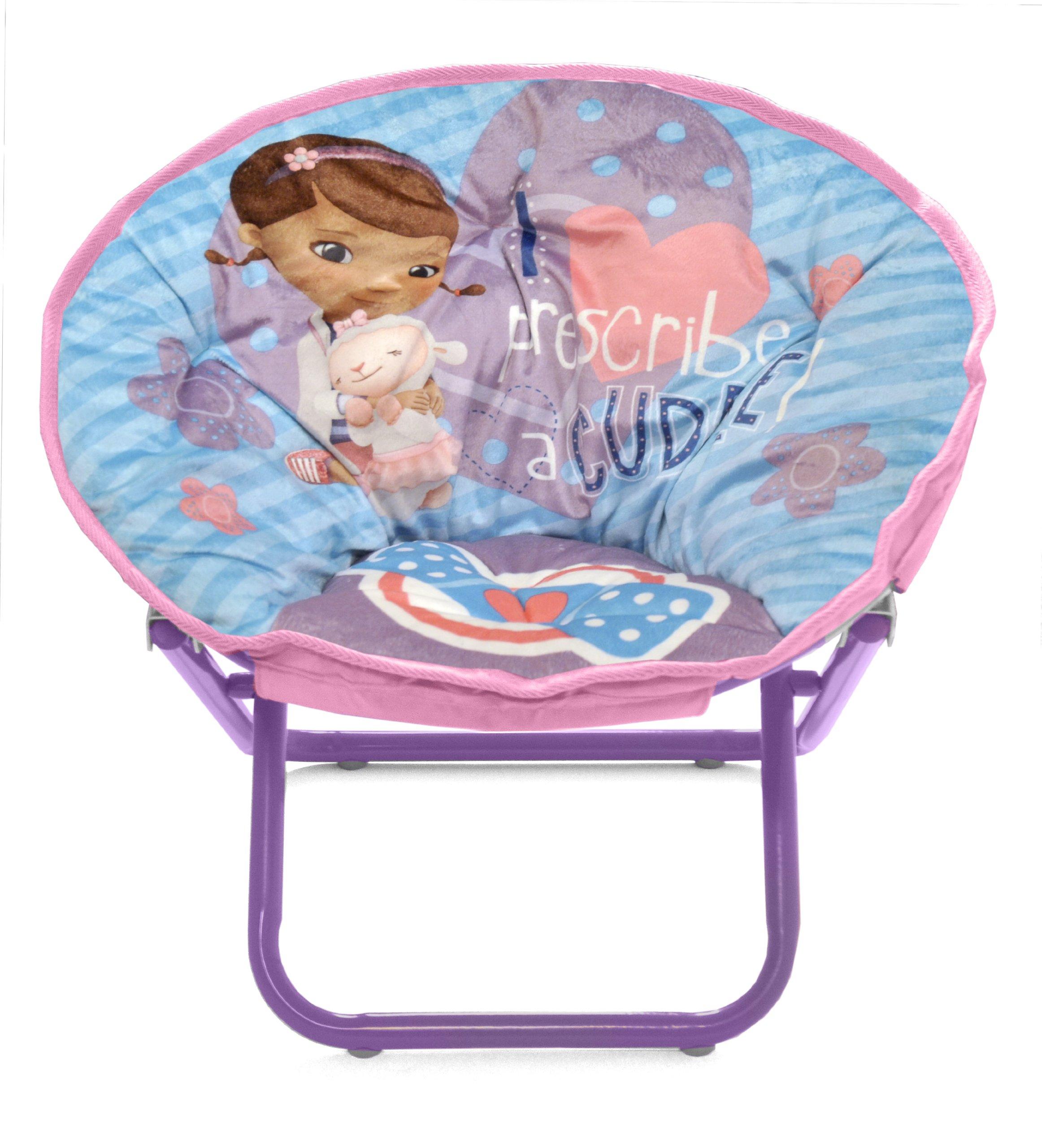 Disney Doc Mcstuffins Toddler Saucer Chair Xta 154