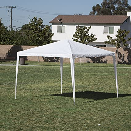 Belleze 10' x 10' feet Commercial Party Tent Gazebo Canopy Event Wedding  Outdoor Backyard - Amazon.com: Belleze 10' X 10' Feet Commercial Party Tent Gazebo
