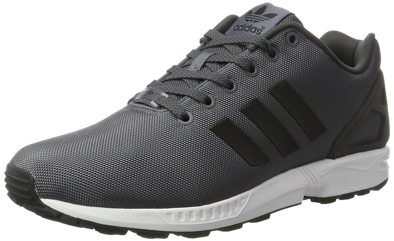 adidas Herren ZX Flux Laufschuhe  40 2/3 EU|Grau (Onix/Core Black/Ftwr White)