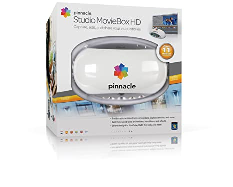 Pinnacle Studio Moviebox HD - Capturadora vídeo, Color Blanco