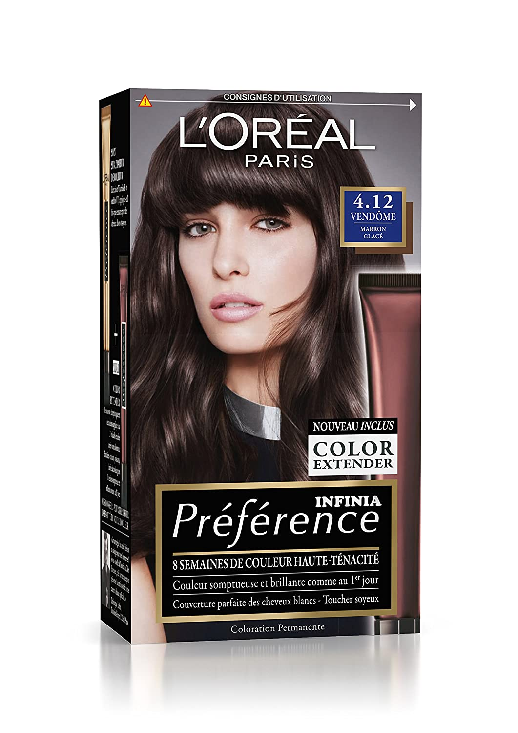 L'oreal coloration cheveux marron glace