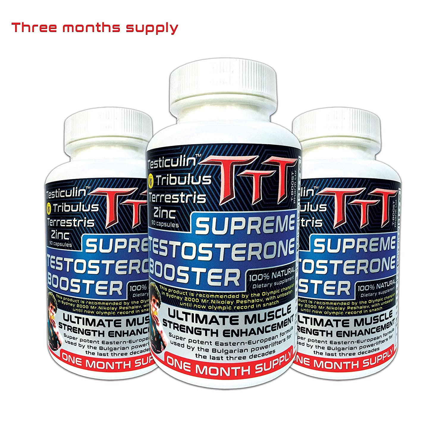 3x1 TTT- The Best Alternative Of The Anabolic Steroids  Supreme  Testosterone Booster  Contains Unique