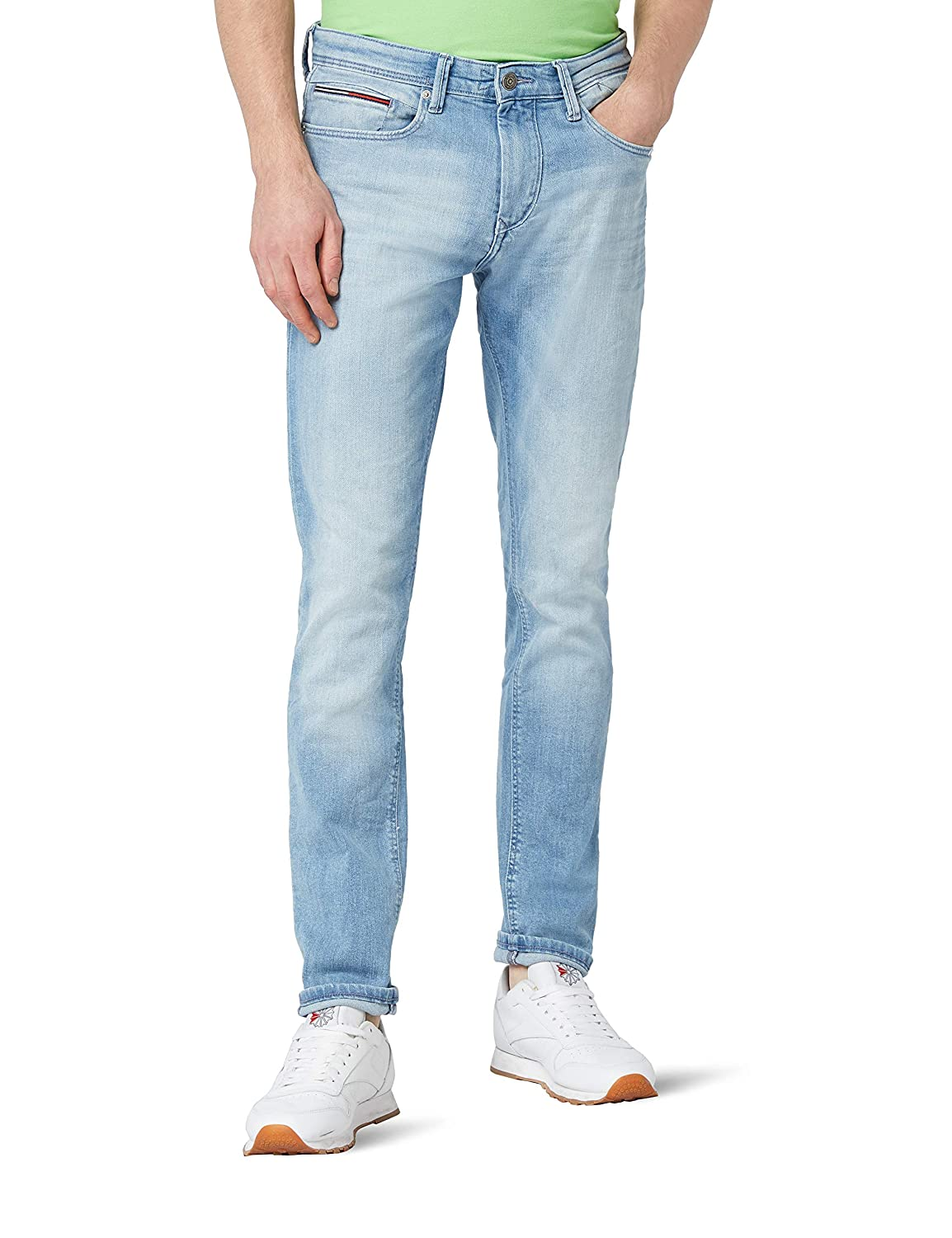 Tommy Jeans Hombre  Tapered Steve Vaqueros slim