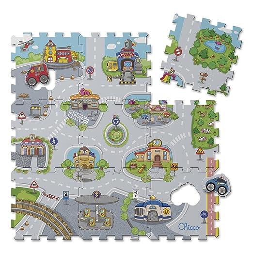 128 opinioni per Chicco 7163- Tappeto Puzzle, Città