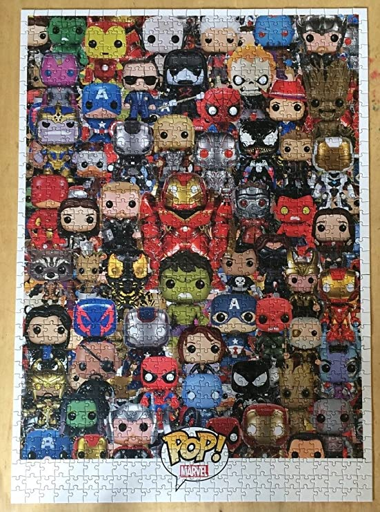Marvel Funko Pop Puzzle 1000 Piece Toys Games