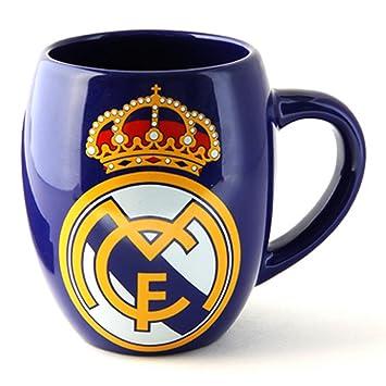 Real Madrid Club de fútbol taza de té tina deporte blanco: Amazon.es: Deportes y aire libre