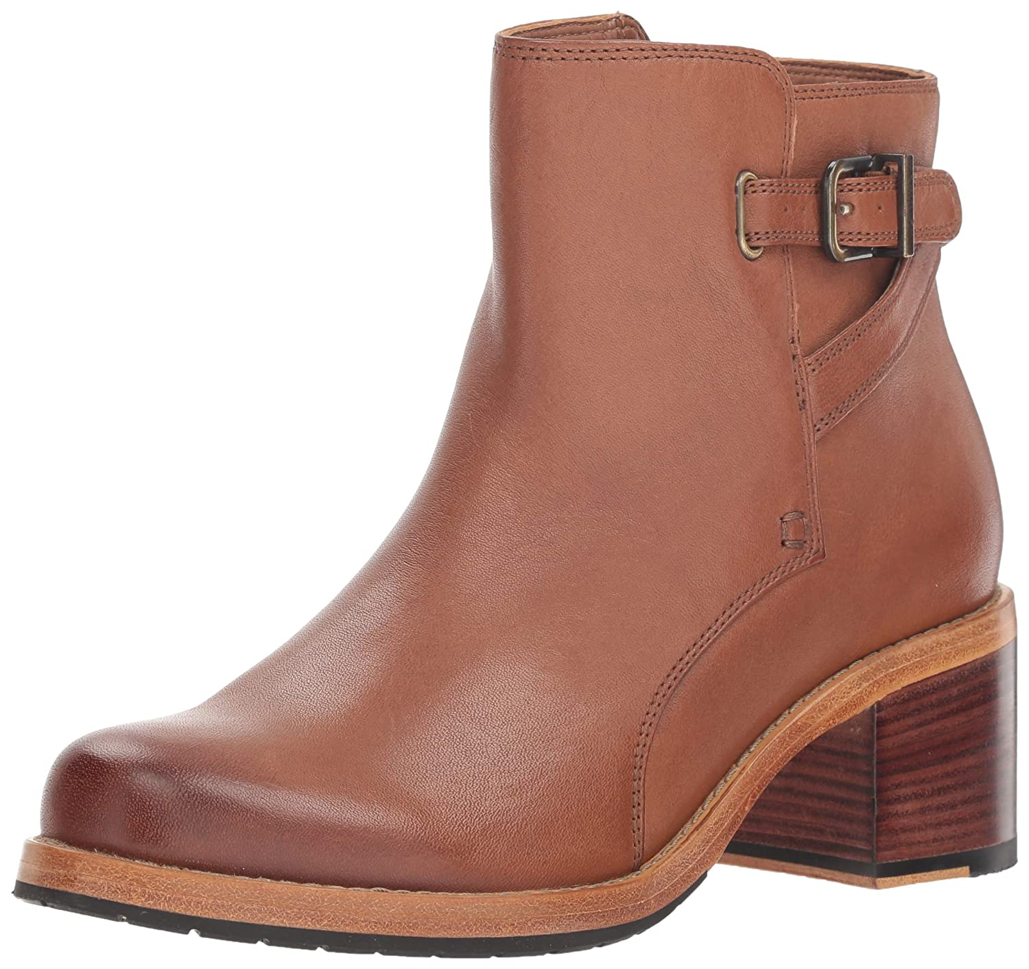 CLARKS femmes Clarkdale Jax Ankle démarrage, Dark Tan Leather, Taille 9