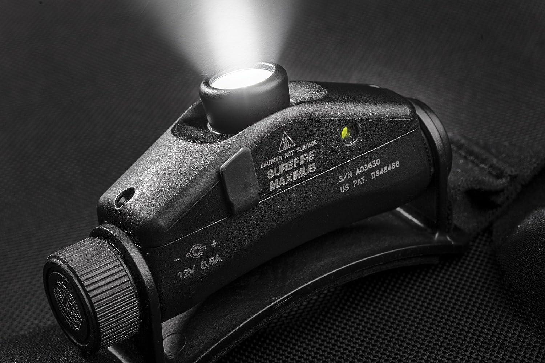 Surefire Maximus Rechargeable Variable-sortie DEL Projecteur Couleur Black Taille:...