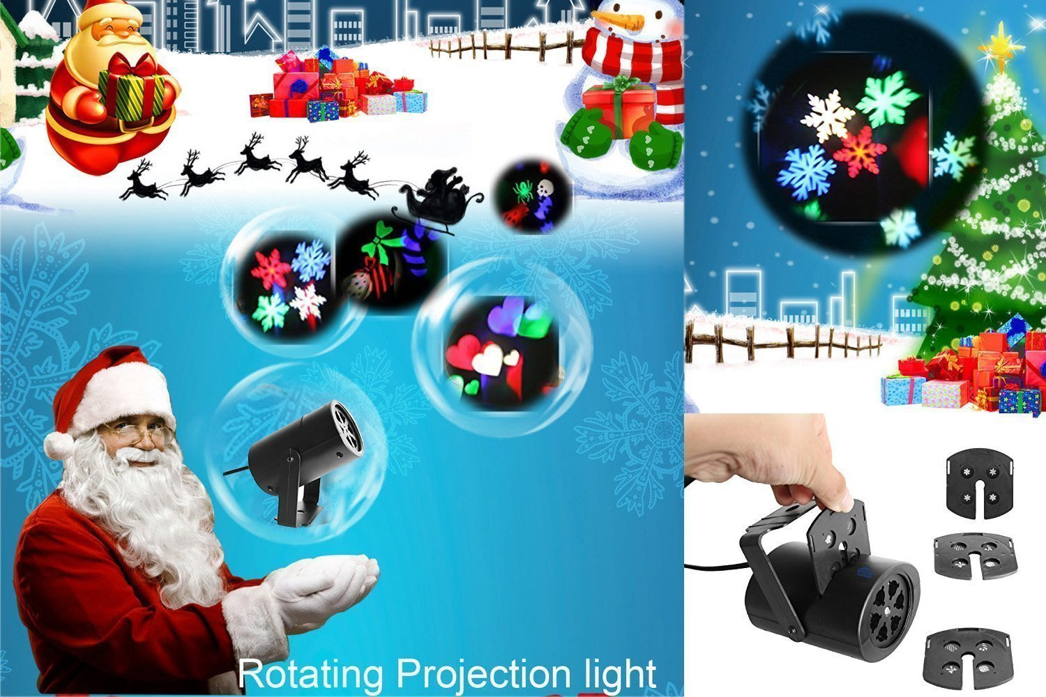 Rotating Holiday Projector Lig...