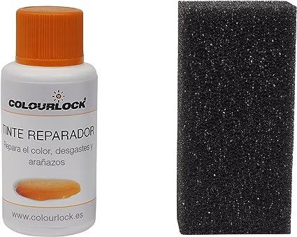 COLOURLOCK Tinte reparador Cuero/Piel F034 (Negro), 30 ml restaura el Color del Cuero en Coches, sofás, Ropa, Bolsos