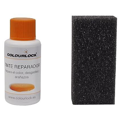 COLOURLOCK Tinte reparador Cuero/Piel F002 (Blanco Roto), 30 ML restaura el Color del Cuero en Coches, sofás, Ropa, Bolsos