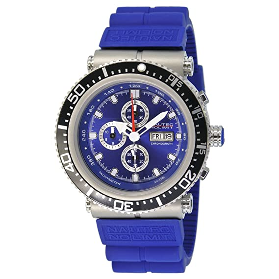 Kautschuk Qz2rbststbl Nautec Herren Sea Quarz Limit Professional P Armbanduhr No Xl Chronograph Ds Deep xBCWroed