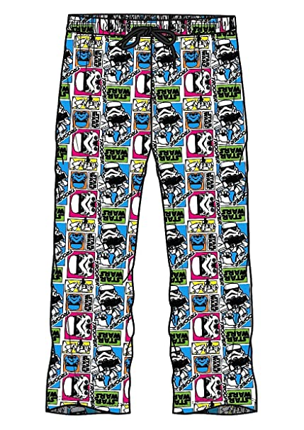 Pantalones de pijama, diseño de Star Wars, para hombre, 100%