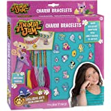 Make It Real – Animal Jam Charm Bracelets. DIY Animal Jam Themed Charm Bracelet Making Kit for Girls. Arts and Crafts Kit to Create Unique Tween Bracelets with Cord, Chains and Metallic Charms