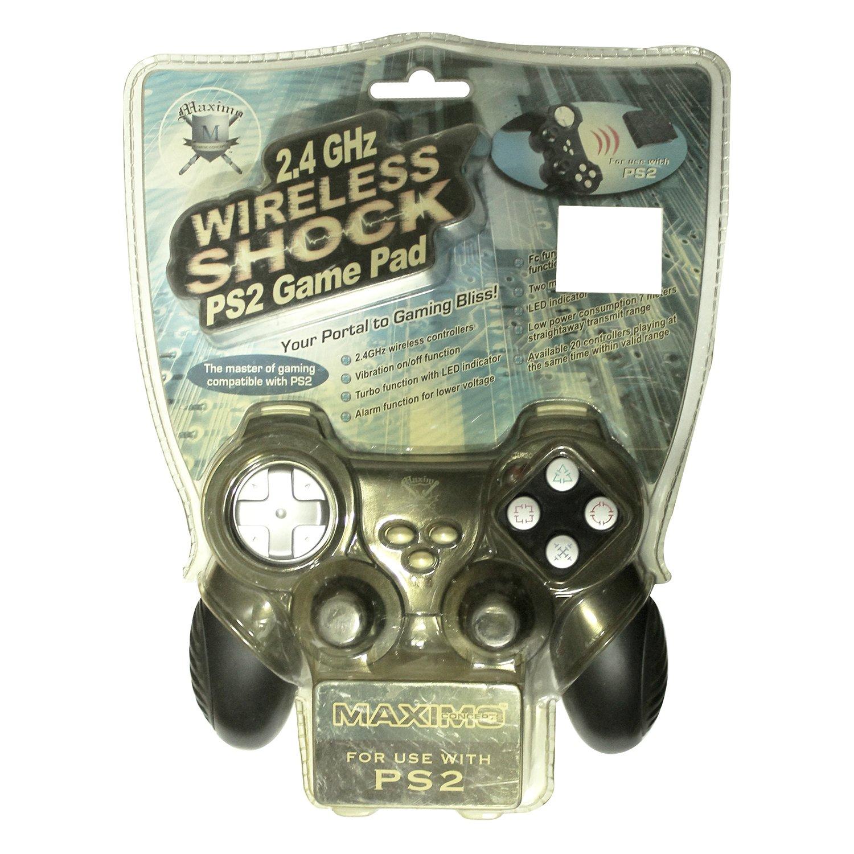Sakar PS2-180 mando y volante - Volante/mando (Mando de juegos, Playstation 2, Inalámbrico, 2.4 GHz, Blanco): Amazon.es: Videojuegos