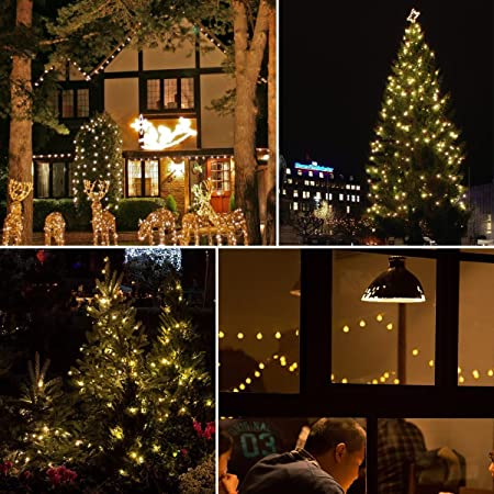 Soco 30 LED 19.8ft Christmas Globe Lights