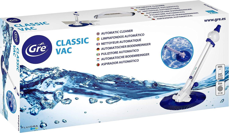 Gre 19001 Classic Vac - Limpiafondos automático para piscina, con ...