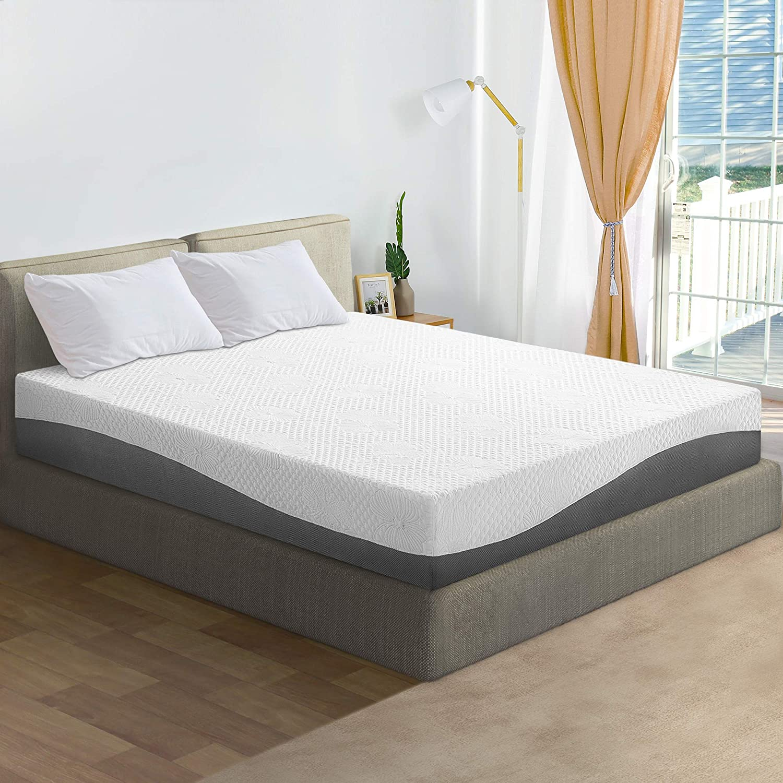 Olee Sleep 10 inch Aquarius Memory Foam Mattress