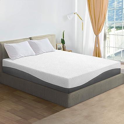 Olee Sleep 10 Inch Aquarius Memory Foam Mattress Full Furniture Decor
