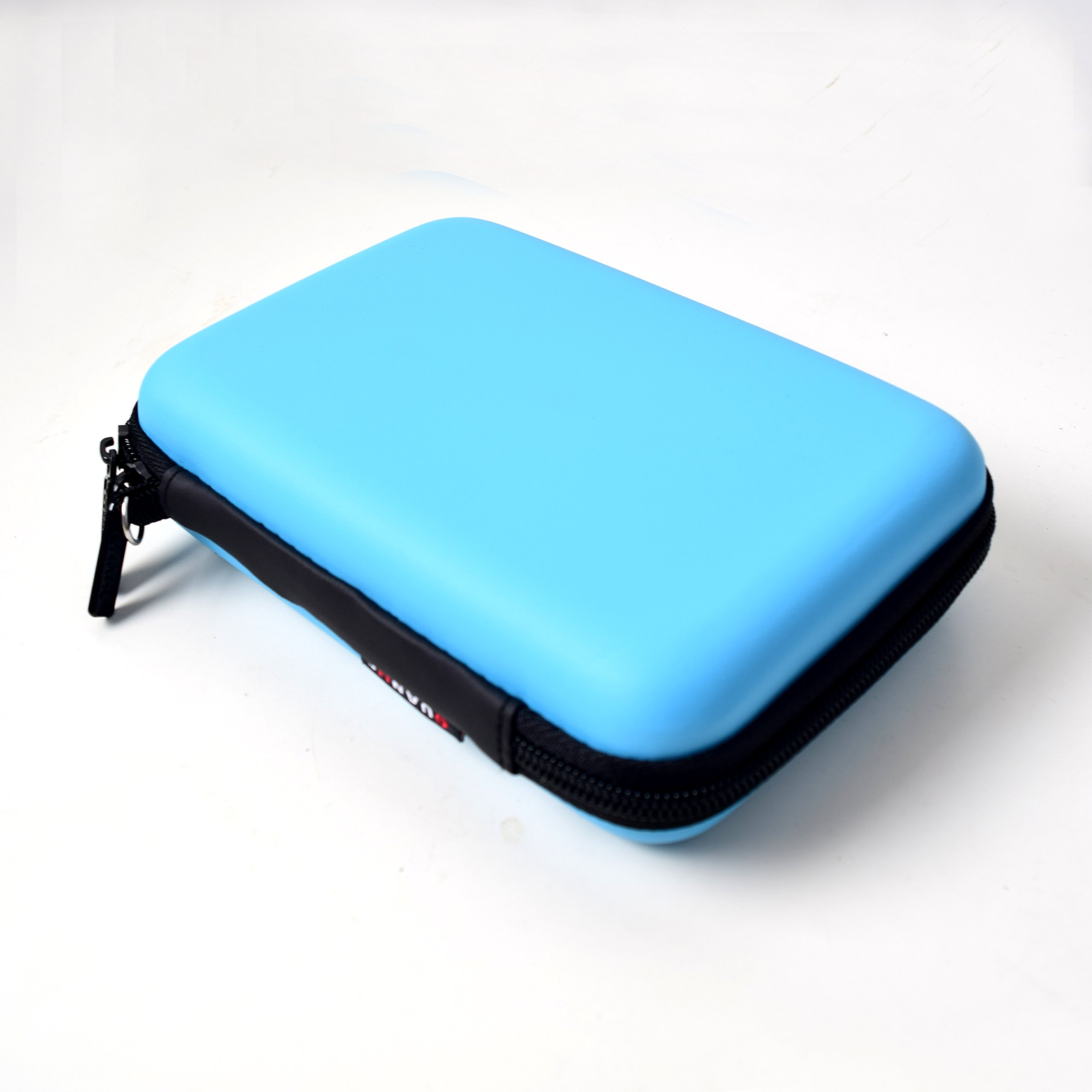 EKYLIN Strong Carrying Case for Mini Projector and Accessories Portable Mobile Protection (Blue)