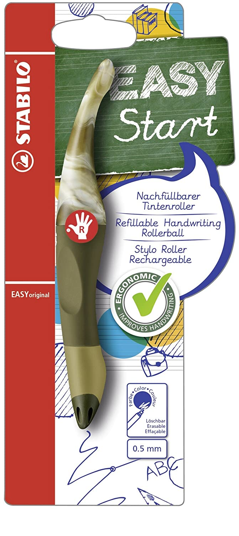 STABILO EASYoriginal Marble Handwriting Pen Right Handed - Sapphire STABILO International GmbH B-49360-10