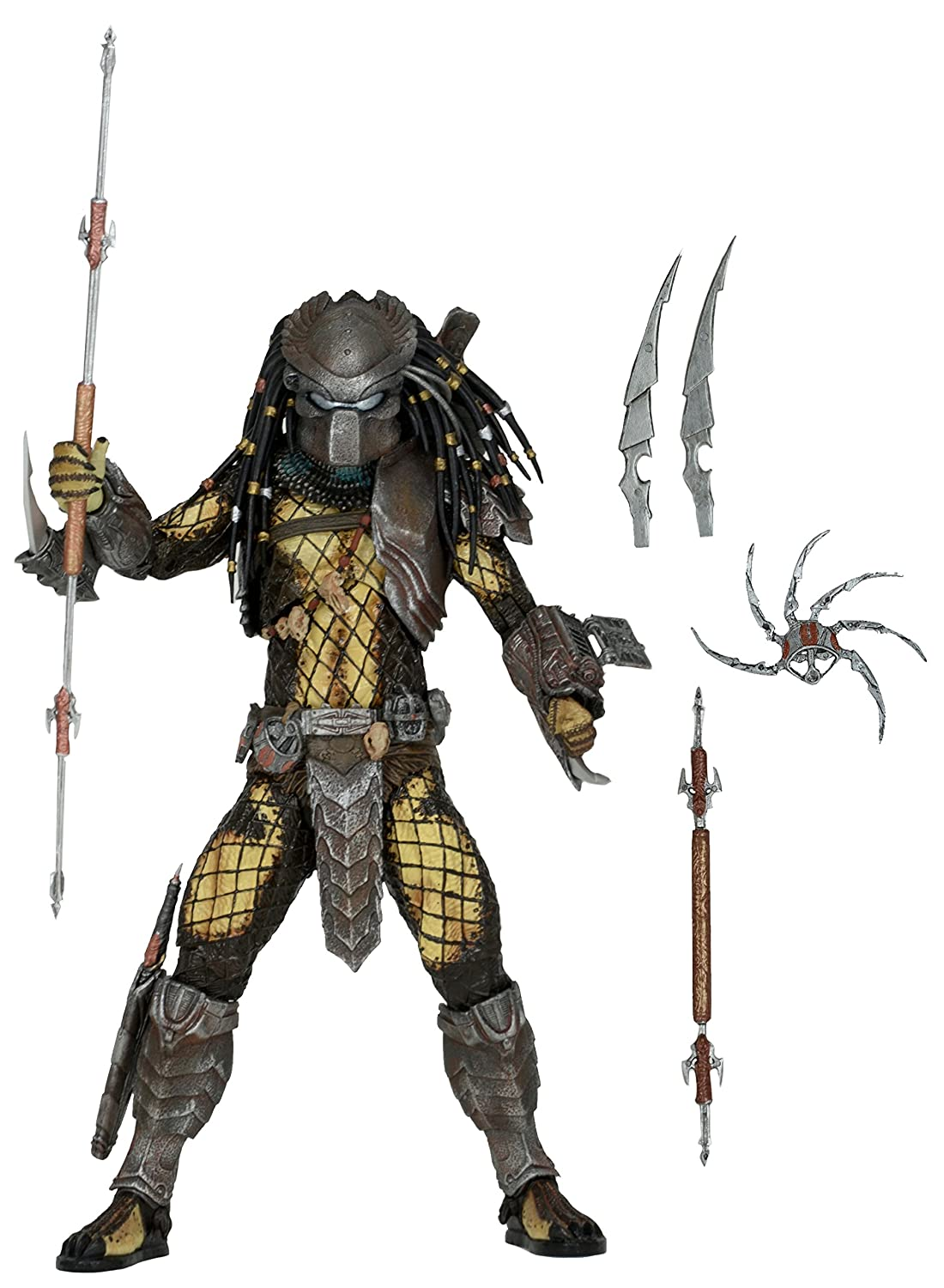 NECA Predator Series 15 Temple Guard Action Figure, 7""