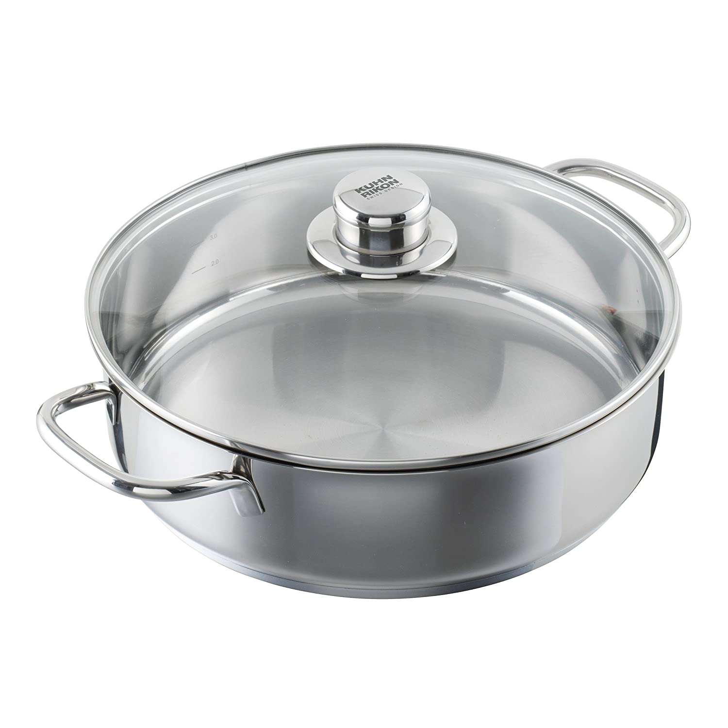 "Kuhn Rikon""Today"" 5 L Dutch Oven, 11.02"", Silver"