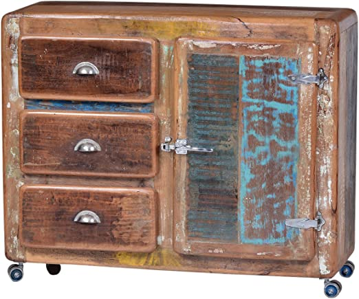 SIT Stuhl »Fridge« (Set, 2 Stück), Shabby Chic, Vintage, SIT-Möbel, bunt