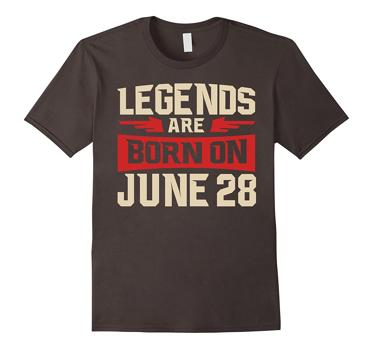Legends Are Born On June 28 T-shirt - Birthday TShirt-TH