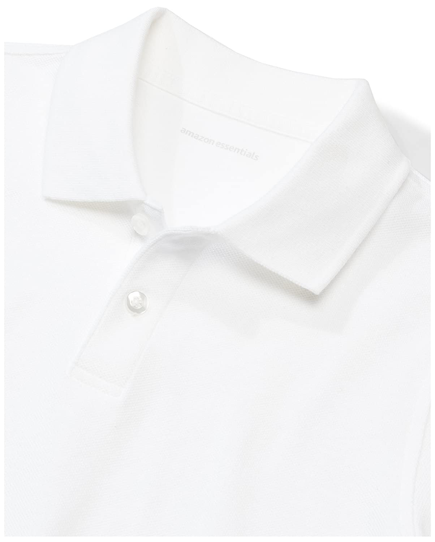 Essentials Toddler Boys Short-Sleeve Uniform Pique Polo White Pack 3T