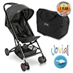 Portable Folding Lightweight Baby Stroller - Smallest Foldable Compact Stroller Airplane Travel, Compact Storage, 5-Point...
