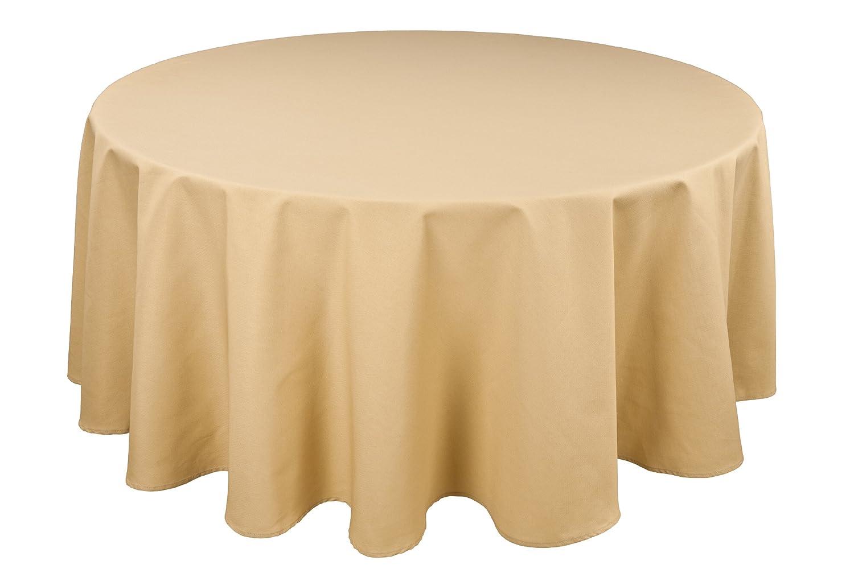 96 inch round tablecloth - Amazon Com Riegel Permalux Cottonblend 120 Inch Round Tablecloth White Home Kitchen