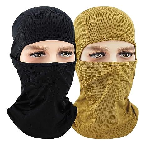 Windproof Mask Adjustable Face Head Warmer for Skiing Cycling Motorcycle Outdoor Sports QINGLONGLIN Balaclava