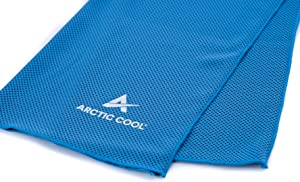 Arctic Cool Instant Cooling Towel Performance Tech Breathable Moisture Wicking Easy to Clean