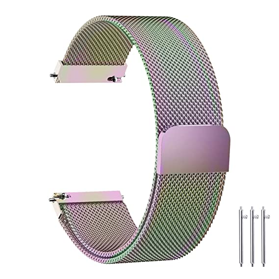 6 colores para Samsung Gear S2 Classic Smart Watch Band Fullmosa 20 mm Milanese pulsera correa
