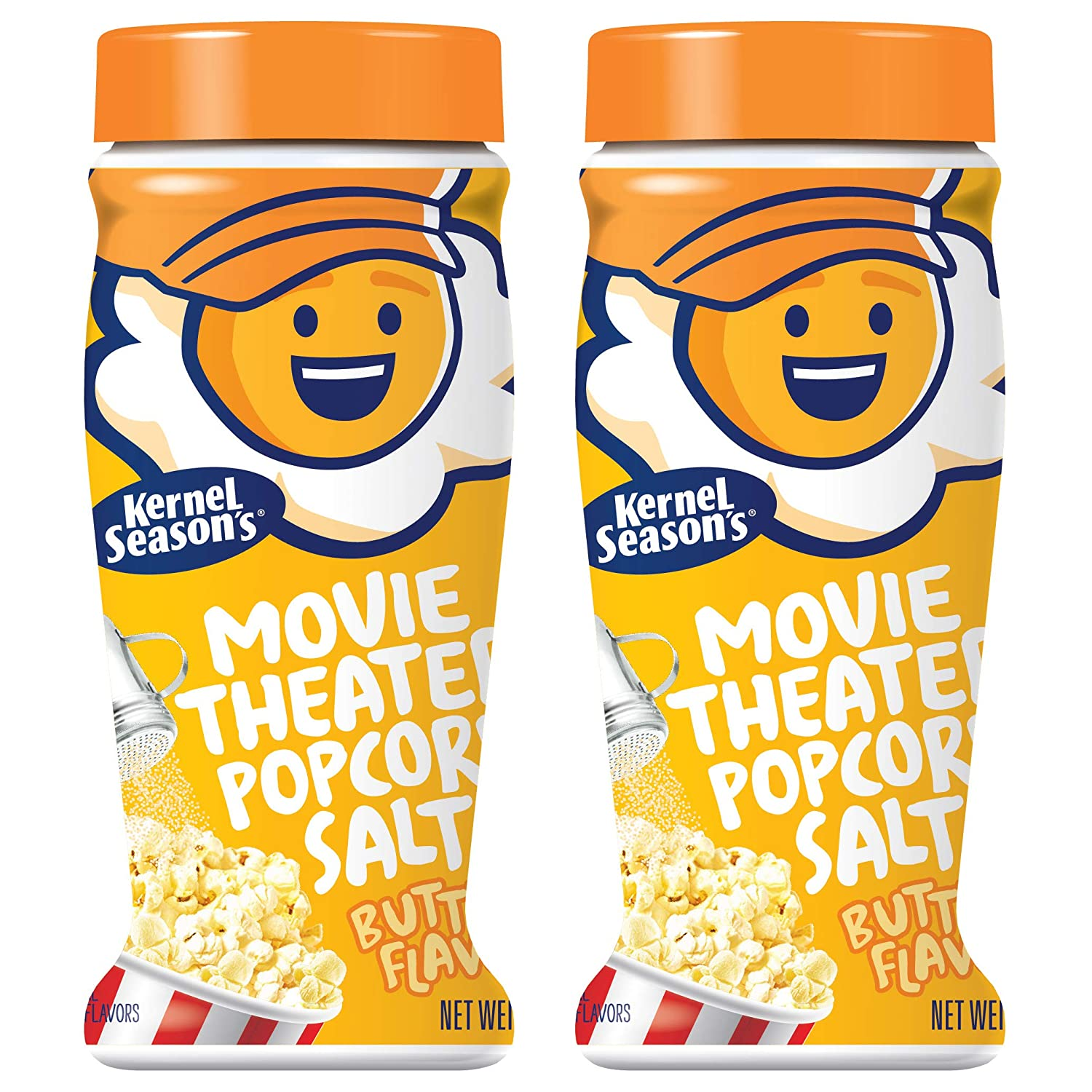 Amazon Com Kernel Season S Popcorn Seasoning Jumbo Movie Theater Butter Variety Pack Salt 2 Count Grocery Gourmet Food