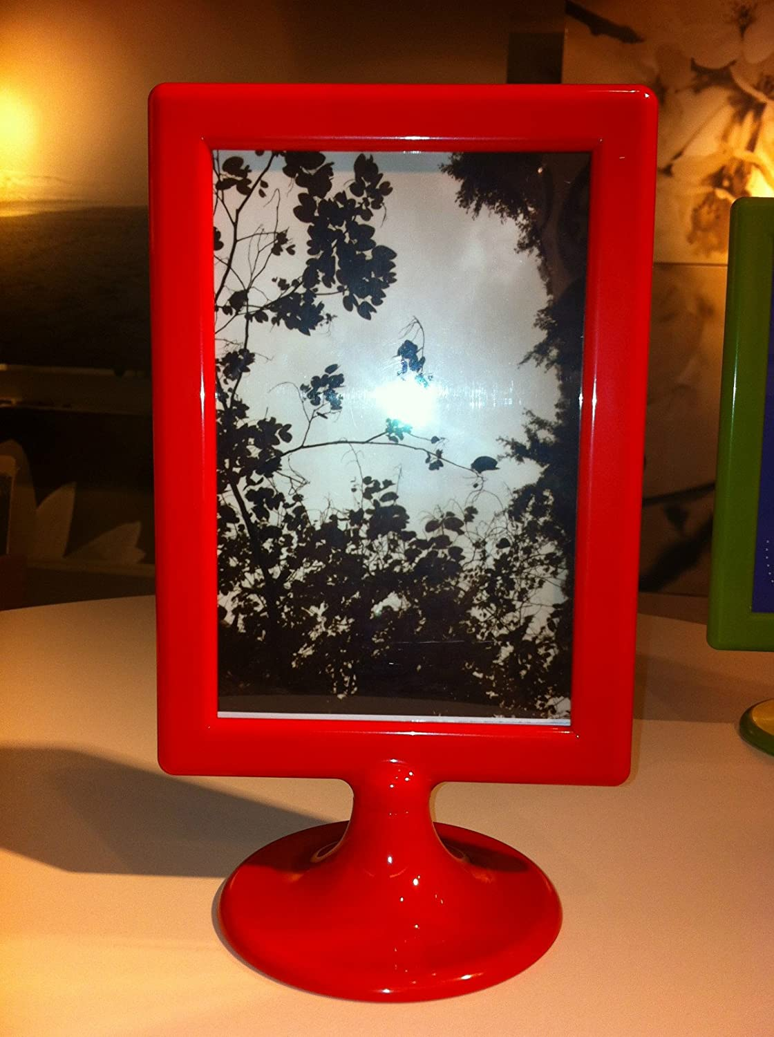 Amazon.com - IKEA TOLSBY FRAME FOR 2 PICTURE RED COLORWEDDING, PARTY ...