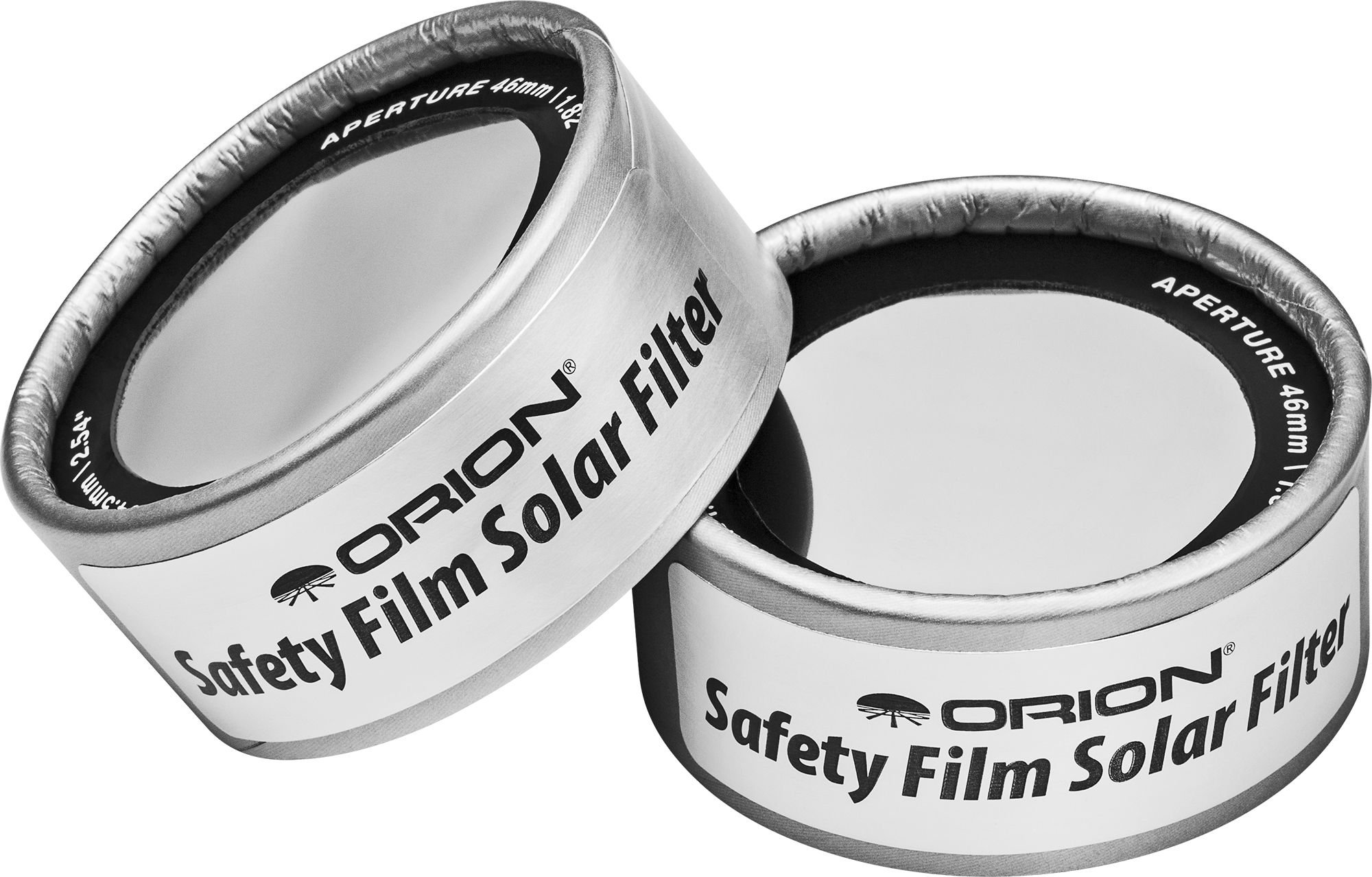 2.54 inch ID Set of Orion E-Series Solar Filters for Binoculars